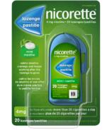 NICORETTE Nicotine Lozenges Mint 4mg