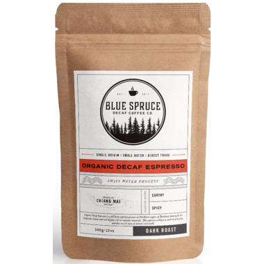 Blue Spruce Decaf Coffee Co. Organic Decaf Espresso