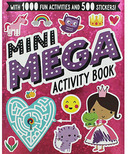Make Believe Ideas Mini Mega Activity Book Pink