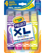 Crayola Project XL Poster Markers Bright Colours