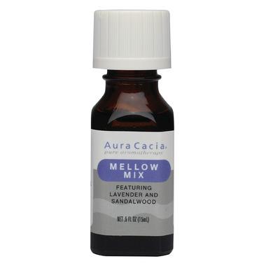 Aura Cacia Mellow Mix Essential Oil Blend