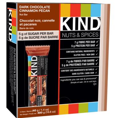 KIND Cinnamon Pecan & Dark Chocolate Bars