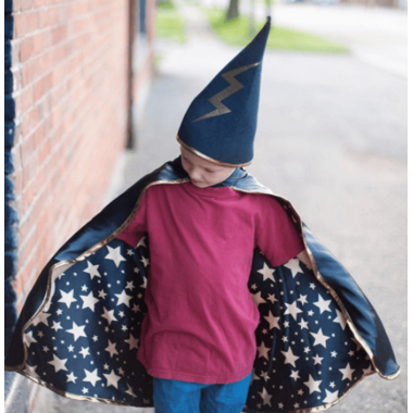 Great Pretenders Reversible Wizard Cape and Hat