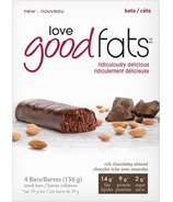 Love Good Fats Rich Chocolatey Almond Snack Bar