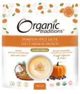 Organic Traditions latté à la citrouille épicée