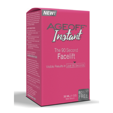 Ageoff Instant 90 Second Facelift Serum