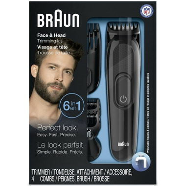 Braun 6-in-1 Multi Grooming Kit