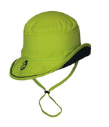 Calikids Quick-Dry Bucket Hat Extra Wide Brim Green Glow