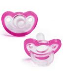 Razbaby JollyPop Pacifiers Pink