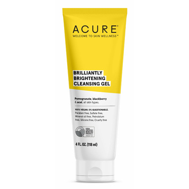 Acure Brilliantly Brightening Cleansing Gel