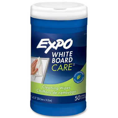 Expo Whiteboard Care Cleaning Wipes