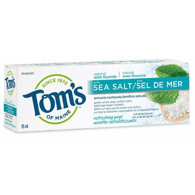 Tom\'s Of Maine Refreshing Mint Sea Salt Toothpaste
