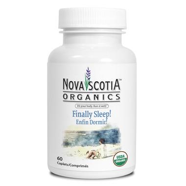 Nova Scotia Organics Finally, Sleep!