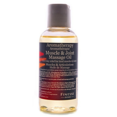 Finesse Home Muscle + Joint Massage Oil