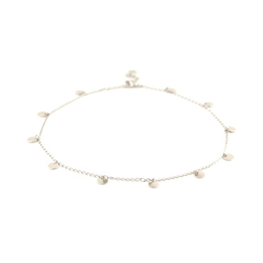 Lovers Tempo Fool\'s Gold Silver Lining Choker Silver