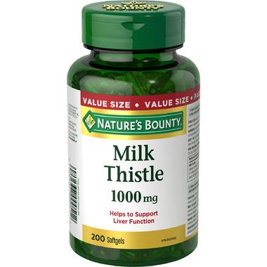 Nature\'s Bounty Milk Thistle