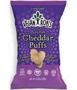 Vegan Rob's Dairy Free Cheddar Puffs