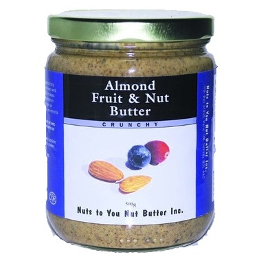Nuts to You Almond Fruit & Nut Butter