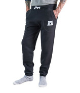 North Standard Trading Post Unisex Slim Fit Sweatpants Black + White