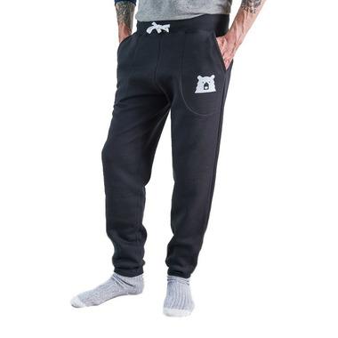 North Standard Trading Post Unisex Slim Fit Sweatpants Black + White