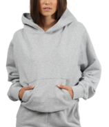 BRUNETTE The Label Best Friend Hoodie Classic Grey