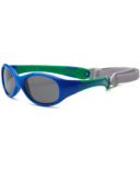 Real Shades Explorer Flex Fit & Removable Band Royal Blue Green