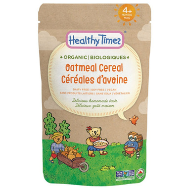 Healthy Times Organic Baby Cereal Oatmeal