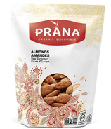 Prana Organic Raw European Almonds Large