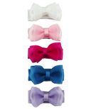 Baby Wisp Chic Collection Small Organza Bow Snap Clips