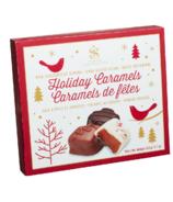 Saxon Chocolates Assorted Holiday Caramels Gift Box