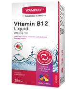 Wampole Vitamin B12 Liquid Natural Fruit Punch Flavor