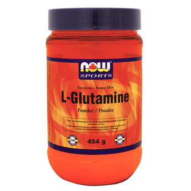 NOW Sports L-Glutamine Free Form Powder