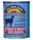 Lick Your Chops Turkey & Brown Rice Dinner Dog Food CASE OF 12