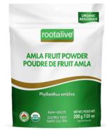 Rootalive Poudre de Fruit Amla Biologique