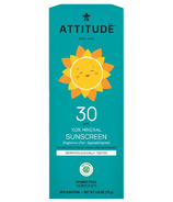 ATTITUDE Little Ones 100% Mineral Sunscreen Fragrance Free SPF 30