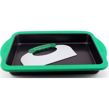 BergHOFF Perfect Slice Big Cookie Sheet With Silicone Sleeve and Tool