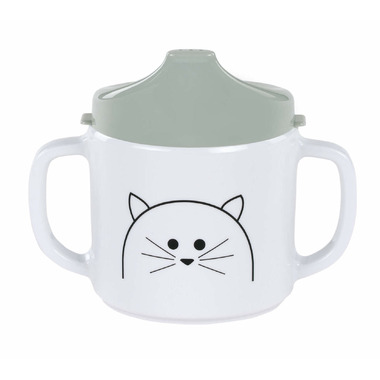 Lassig Little Chums Sippy Cup Cat
