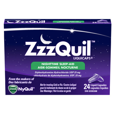 ZzzQuil Liquicaps Sleep-Aid