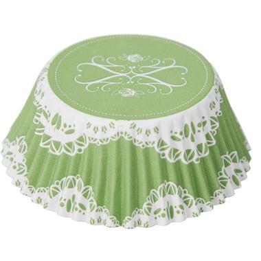 Elegant Lace Foil Lined Bake Cups