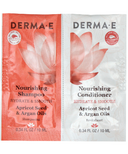 Derma E Nourishing Shampoo & Conditioner Sample Duo