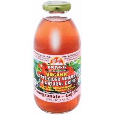 Bragg Organic Apple Cider Vinegar Drink Pomegranate Goji Berry