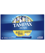 Tampax Pearl Tampons Regular Absorbency with LeakGuard Braid Unscented