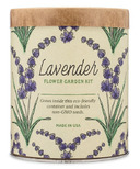 Modern Sprout Waxed Planter Lavender