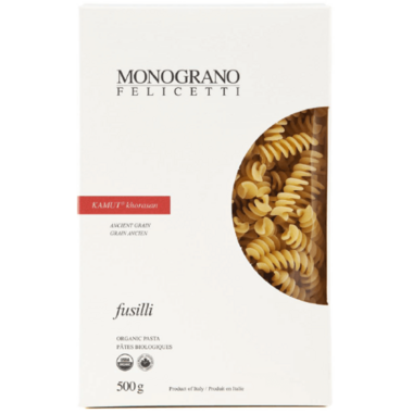 Monograno Felicetti Organic Kamut khorasan Fusilli