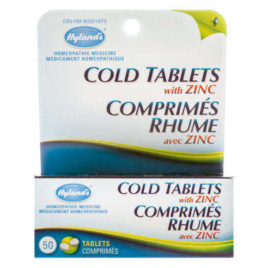 Hyland\'s Cold Tablets with Zinc