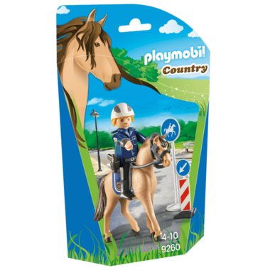 Playmobil Mounted Police
