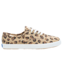 Keds Big Kids Champion Leopard Canvas