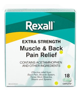 Rexall Extra Strength Muscle and Back Pain Relief