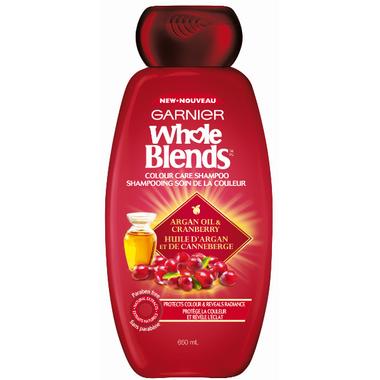 Garnier Whole Blends Cranberry Argan Oil Colour Care Shampoo