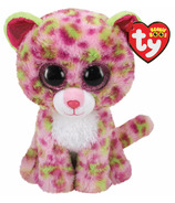 Ty Beanie Boo's Lainey Leopard Pink Regular